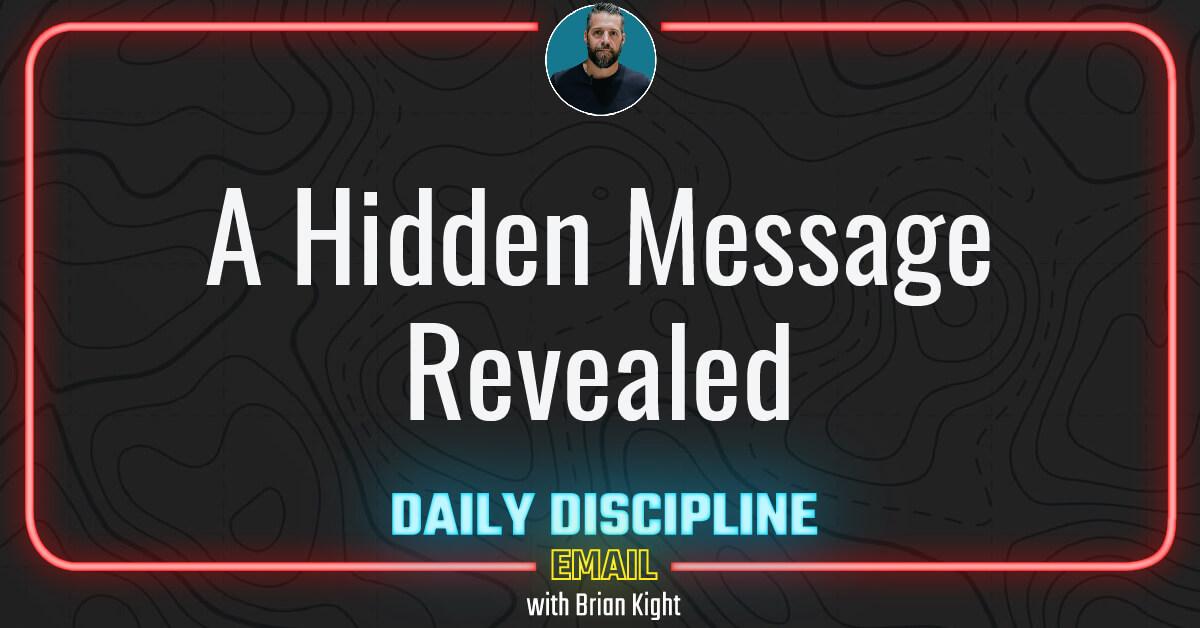 A Hidden Message Revealed