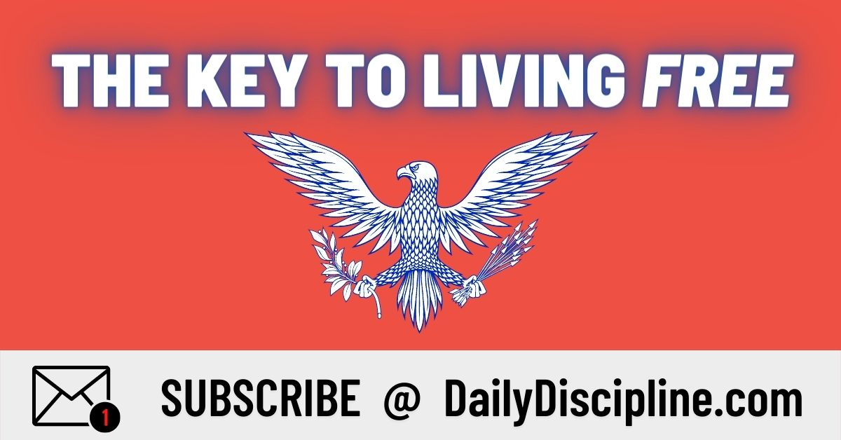The Key To Living Free