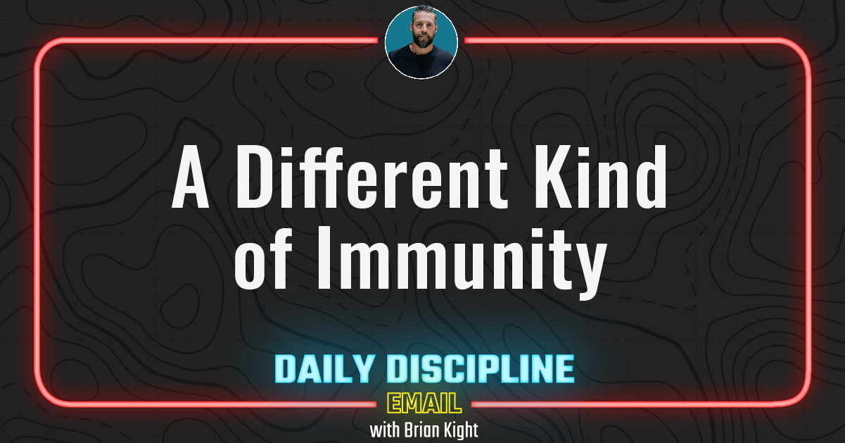 A Different Kind of Immunity