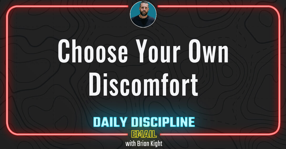 Choose Your Own Discomfort