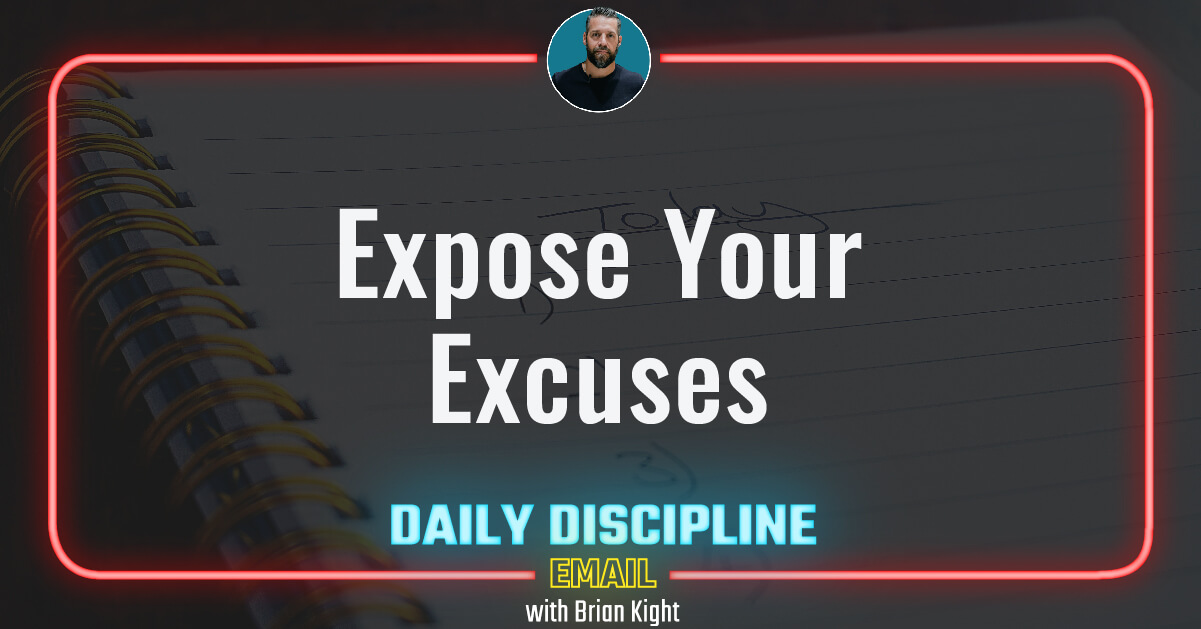 Expose Your Excuses