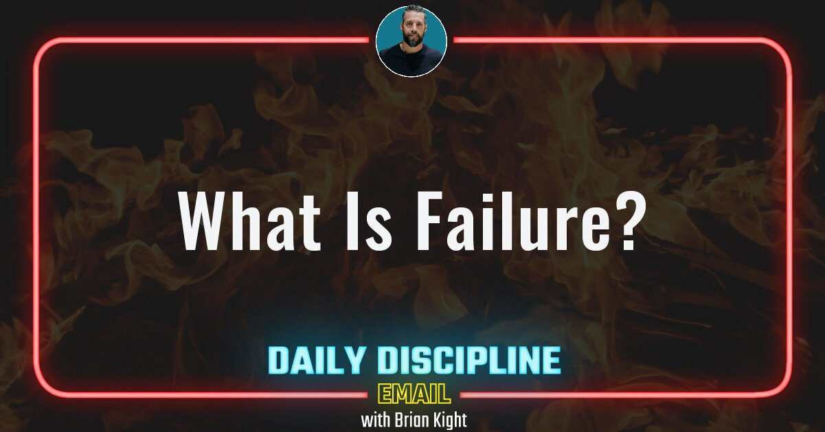 What Is Failure?