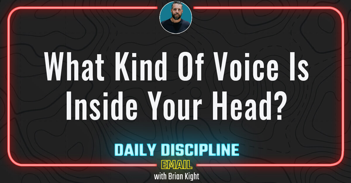 What Kind Of Voice Is Inside Your Head?