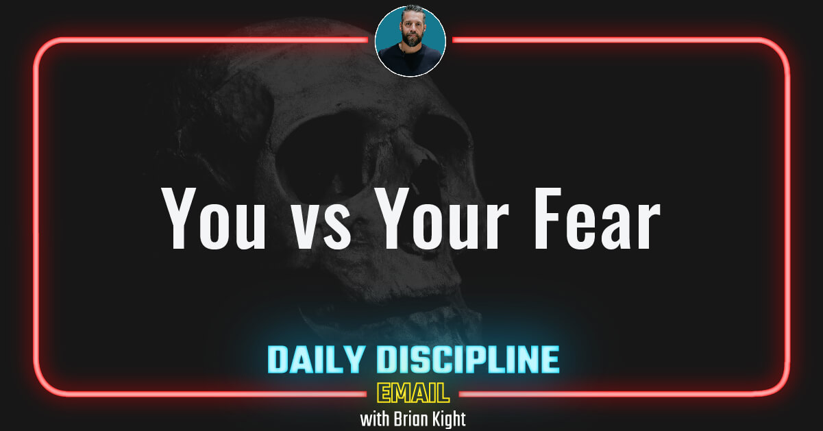 You vs Your Fear
