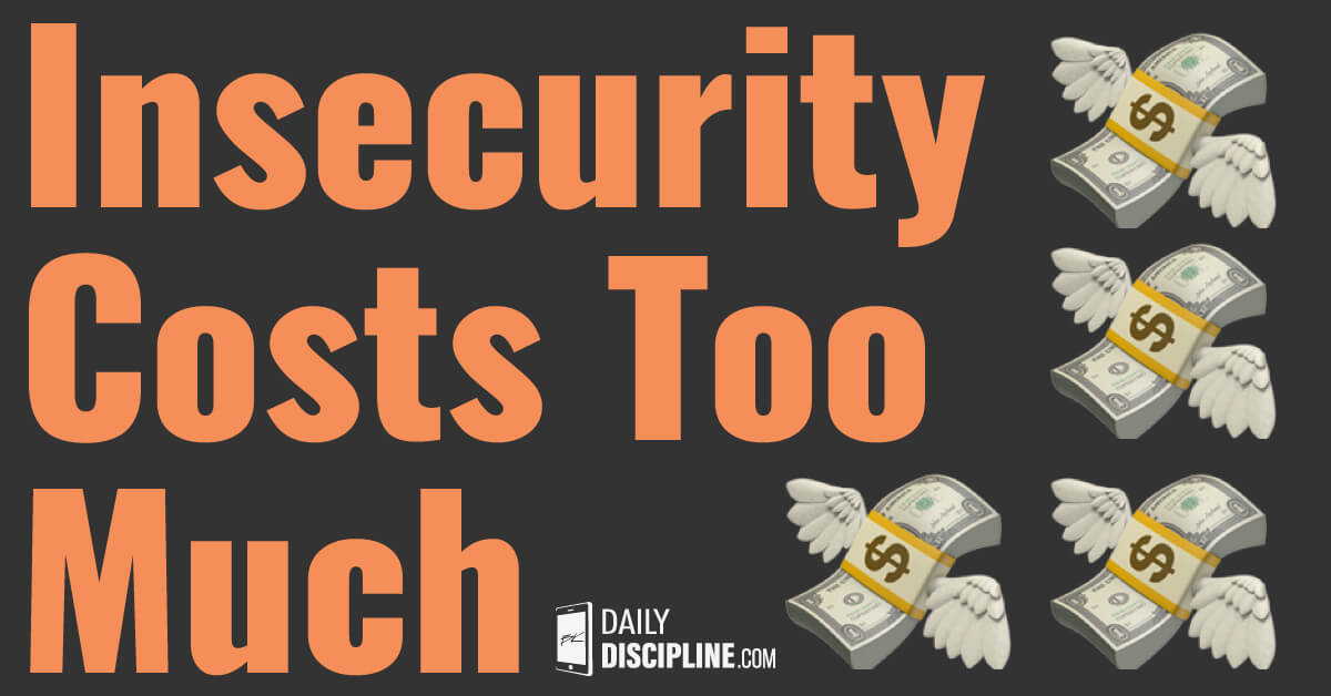 Insecurity Costs Too Much