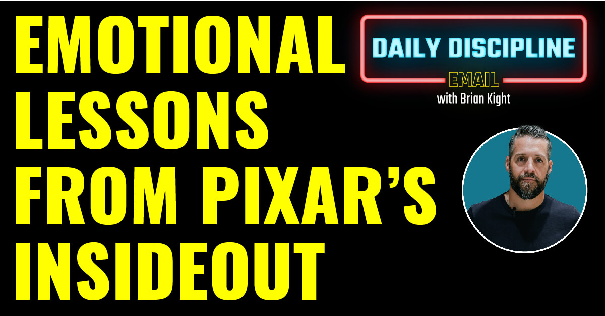 Emotional lessons from Pixar's InsideOut