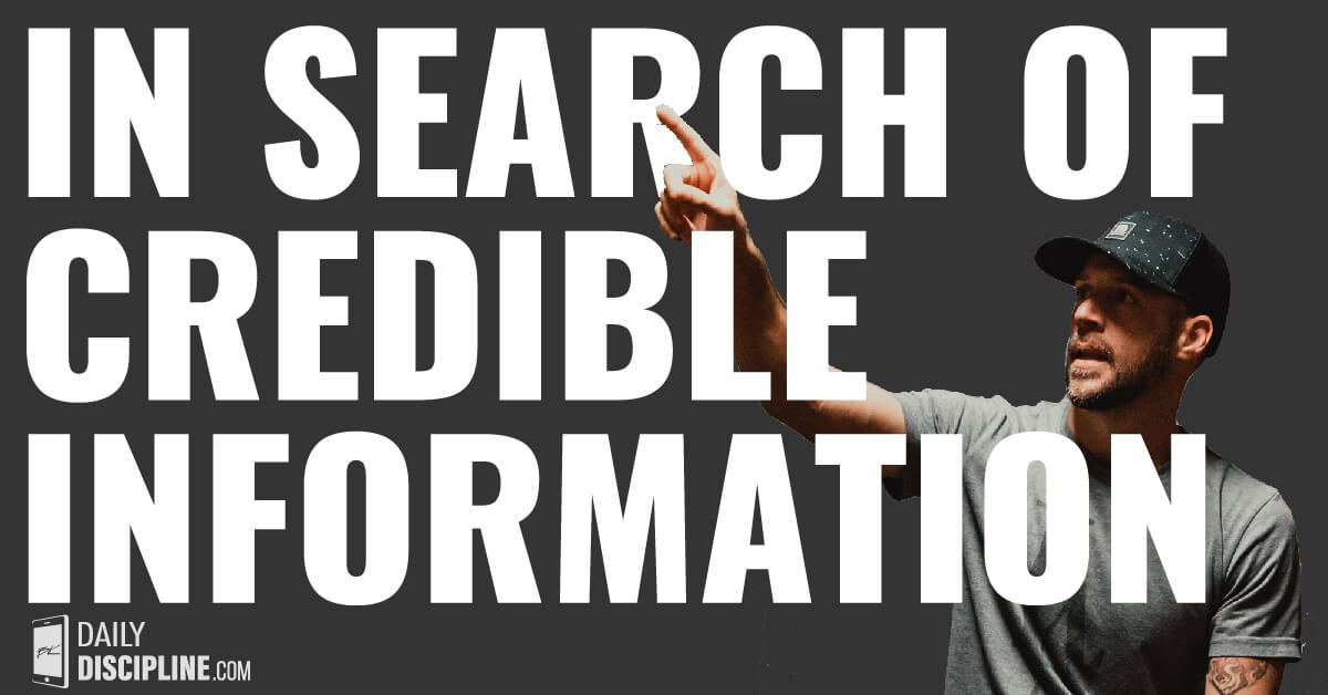 In search of credible information