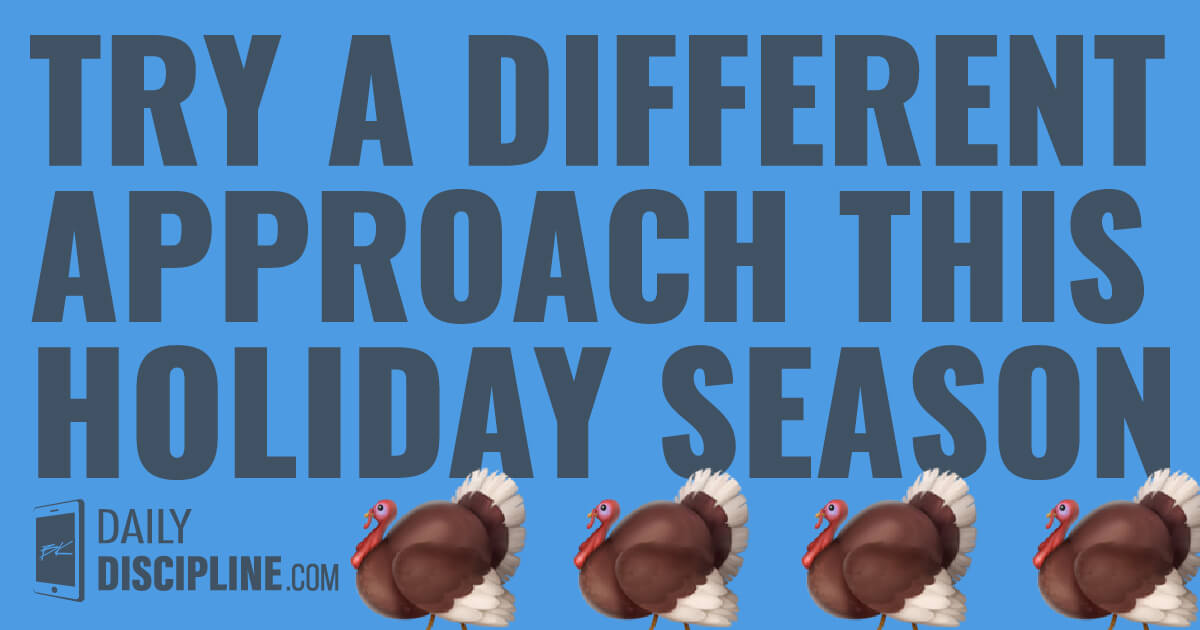 Try a different approach this holiday season